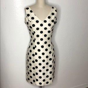 Vintage Kenar polka dot tea party mod 60s dress 8